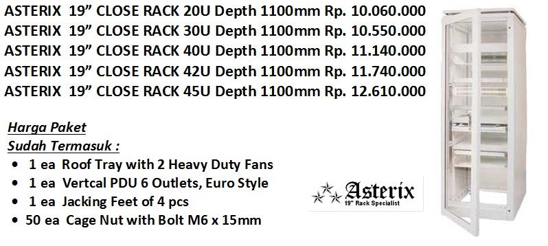 asterix rack paket murah